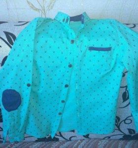 Рубашка одета один раз