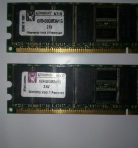 Оперативная память DDR1. 1GB.