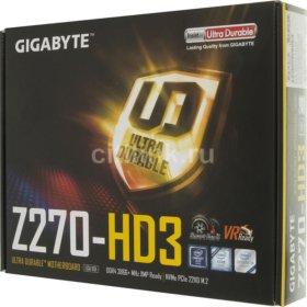 Материнская плата GIGABYTE GA-Z270-HD3 (rev. 1.0)
