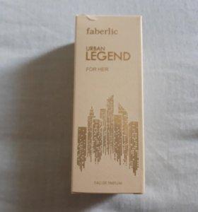 Духи женские Urban Legend 50 ml от Faberlic