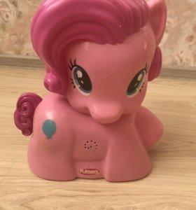 Воздушный фонтан my little Pony с мячиками hasdro