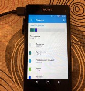 Телефон Sony Xperia z1 compact