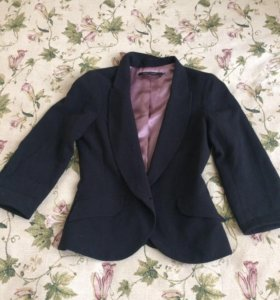 Пиджак чёрный Султана Французова