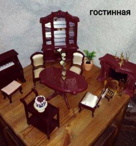 Мебелировка для кукольного дома