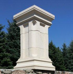 Комплект форм для производства колонн из бетона