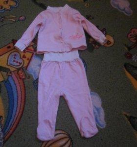 одежда для малышей от 0 до 7 месяцев