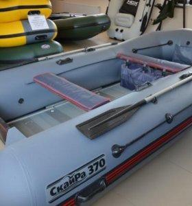 Лодка пфх скайра 370, мотор 9,9 л.с