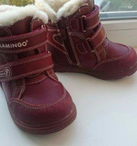 Зимние ботинки д/девочки 24 размер