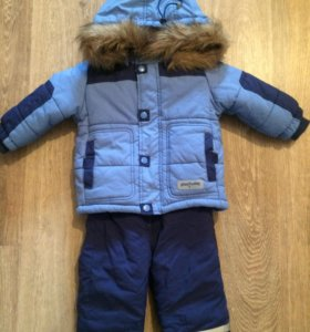 Комплект зимний куртка, полукомбинезон PlayToday