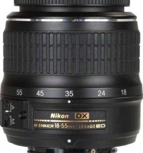 Объектив nikkor 18-55 nikon
