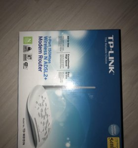 Wi-Fi роутер TP-LINK TD-W8151N