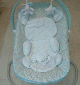 Кресло-качель happy baby