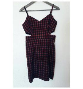 Стрейч платье diffuse