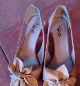 Туфли нат.кожа 36 размер