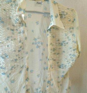 Блуза шифон 46-48