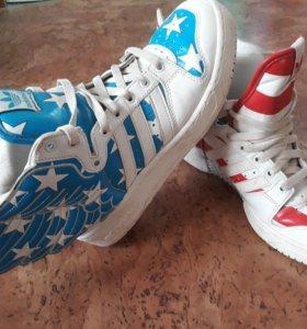 Кроссовки..adidas..оригинал 40 р. Натуральная кожа