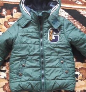 Курточка осенняя 2-4года