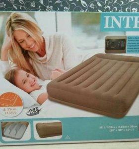 Надувная кровать с встроенным электро насосом