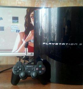 Playstation 3 fat + игры