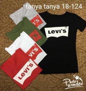 Новая футболка женская levi's
