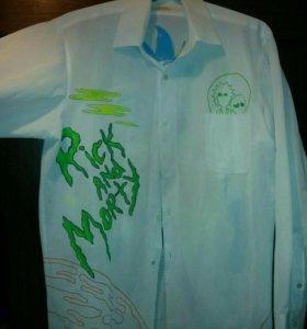 """Рубашка """"Рик и Морти"""""""