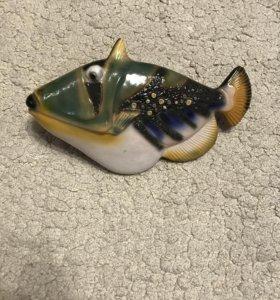 Рыба статуэтка на стену
