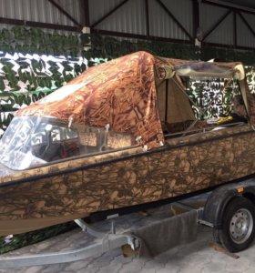 Новая лодка с мотором ямаха 40 л.с.