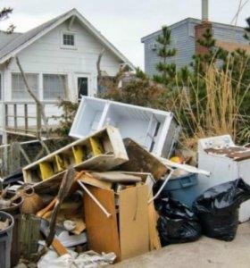 Вывоз мусора, мебели с дачи,  квартиры