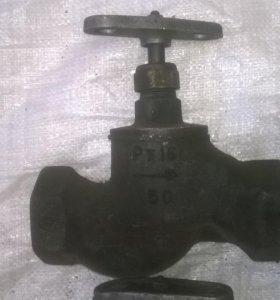 Вентиль чугунный Ру 16 - 50