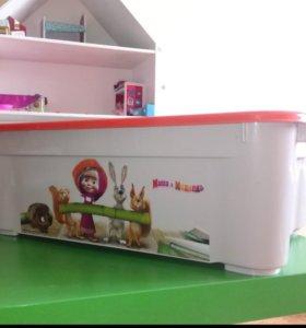Ящик для хранения вещей и игрушек
