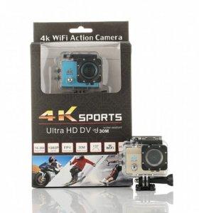 Новая экшн-камера 4К UHD Wi-Fi