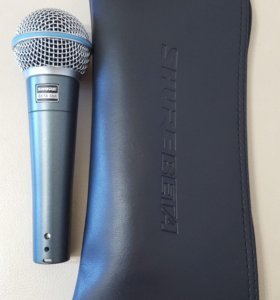 SHURE BETA 58 A MADE IN MEXICO