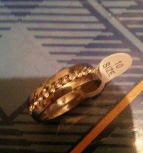 Кольцо-серебро