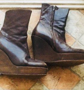 Ботинки на платформе 36р