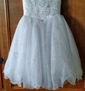 Бальное платье 6-10лет.