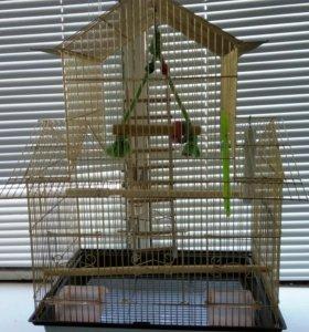 Продам клетку для попугая.