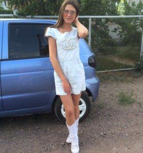 Сарафан и летние ботинки