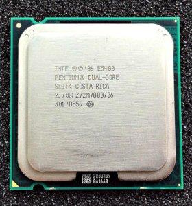 Intel®Pentium®Dual-Core E5400 2.7GHz/2MB/800MHz