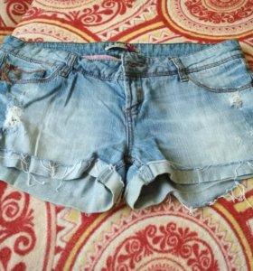 Шорты джинсовые летние женские