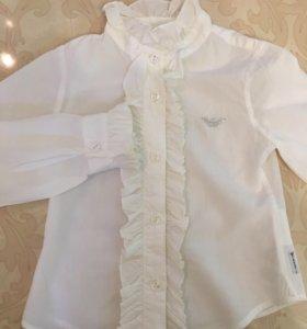 Рубашка Armani Junior для девочки. Рост 94 см