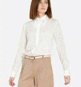 🔸 Белая кружевная блузка XL 🔸