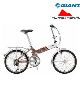Складной велосипед Giant fd 806 коричневый