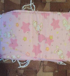 Бортики для детской кроватки б/у