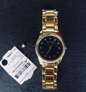 Часы Sunlight золотые новые