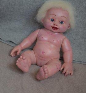 Кукла реборн мини пупсик Снежанка