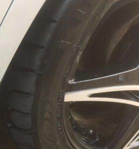 Колёса на сааб, Opel
