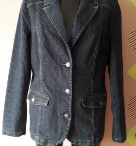 джинсовый пиджак р.50-54