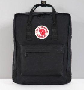 Качественный Рюкзак Kanken Classic Черный