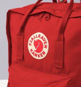 Качественный Рюкзак Kanken Classic Красный