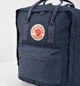 Качественный Рюкзак Kanken Classic Темно-синий
